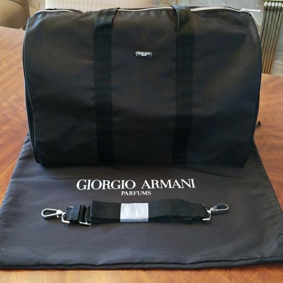 0b710a1c41 NWOT Giorgio Armani lightweight duffle bag